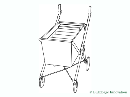 Bulldogge Trolley front wiew